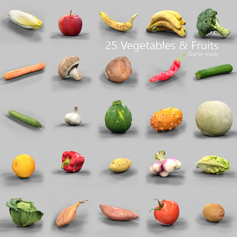 25 Vegetables and Fruits Collection.jpg