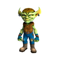 3ds max character goblin