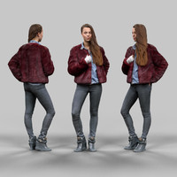 3d fashion girl