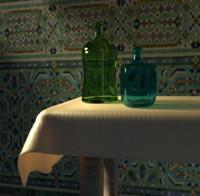 free bottle environment 3d model