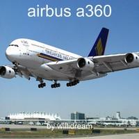 3d model airbus a380
