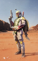 3d model bounty boba fett