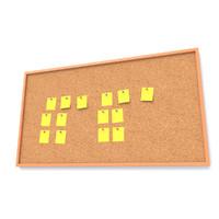 3d model cork board