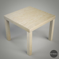 ikea lack table - obj free