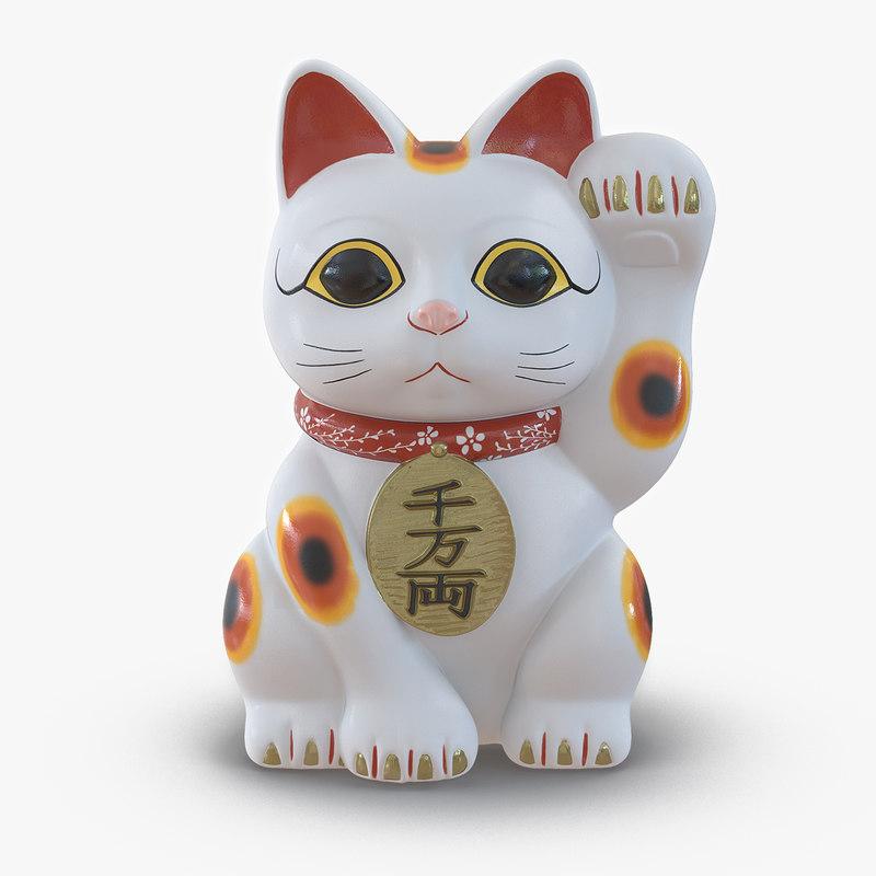 3d model of Maneki Neko 00.jpg