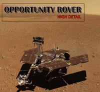 opportunity rover 3d 3ds
