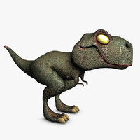 t-rex v-ray 3ds