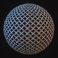 Seamless Chainmail Texture 2