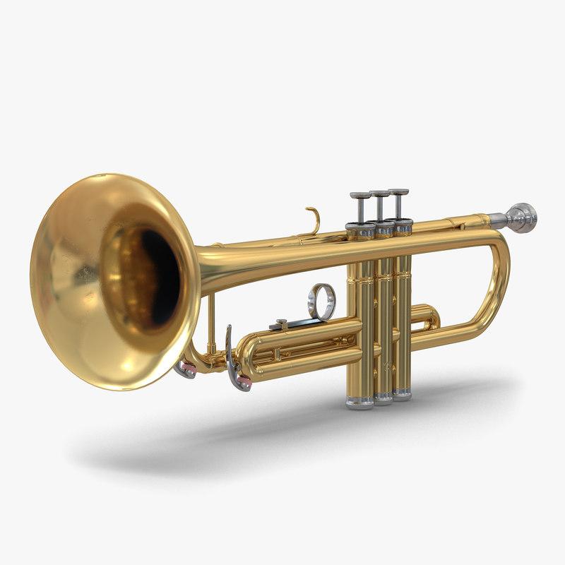 3d model of Trumpet 00.jpg