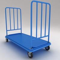 ma medical luggage equipment trolley