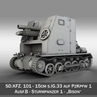 3d model pzkpfw ausf b -
