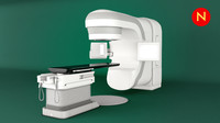 varian truebeam radiotherapy 3d model
