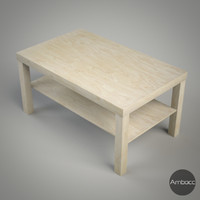 ikea lack coffee table 3d lwo