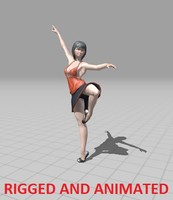 rigged animations 3d fbx