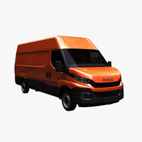 3ds iveco daily van 2016