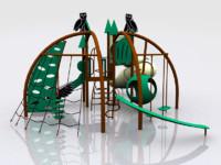 owl playland kids 3d model