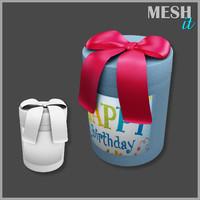 gift box obj free