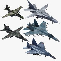 3d tactical russian fighter