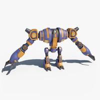 3d robot giant