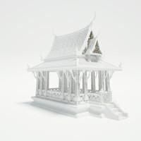 pavilion architecture 3d max