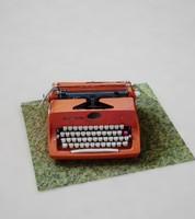 writer type typewriter obj