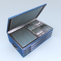 mechanics tool chest 3d max