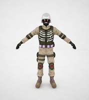 army soldier 3d max