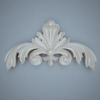 ornament interior furniture 3d model