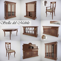 3d obj furniture room