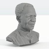 obj african man