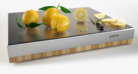 lemons chopping board 3d obj