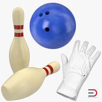 bowling 2 3d model