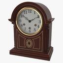 Mantel Clock 3D models
