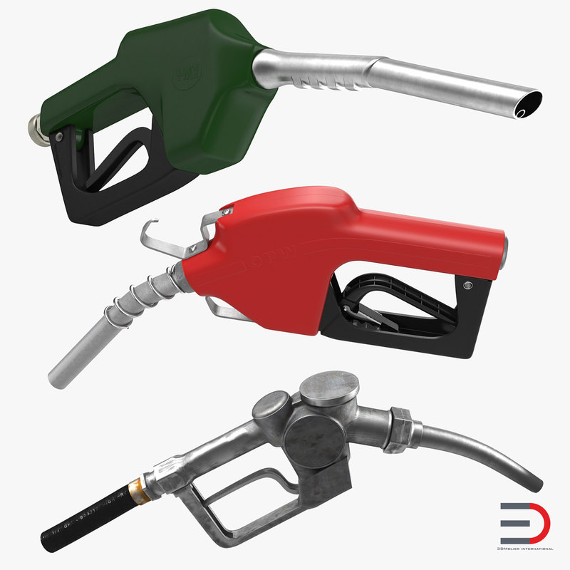 Fuel Nozzles Collection 3d models 00.jpg