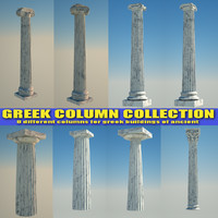 Greek Column Collection