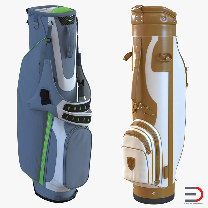 Golf Bags Collection 3d models 00.jpg