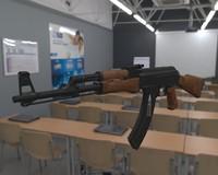3d model ak47 ak 47