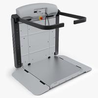 3d model wheelchair lift