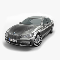 bmw 7 series g11 3d 3ds