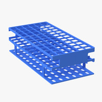 test tube rack 3d max