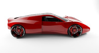 max concept mid-engine sportcar
