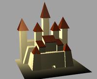 castle 3d ma