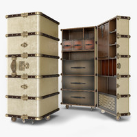 3d authentic stateroom armoire travel
