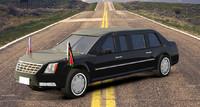 3d model presidential car s
