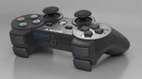 ps3 joystick 3d model