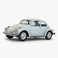 volkswagen beetle 1966 simple 3d 3ds