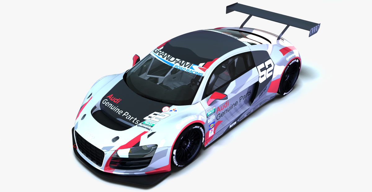 Audi r8 lms ultra max speed 10