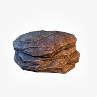 big stone 3 3d model