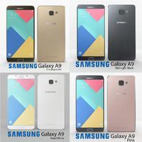 3d samsung galaxy a9 colour
