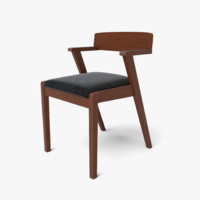 Zola Liquorice Black and Cocoa Dining Chair